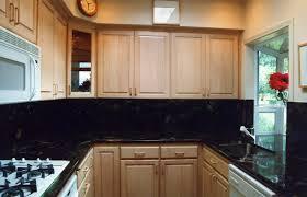 kitchen attractive home small kitchen design with maple u shape