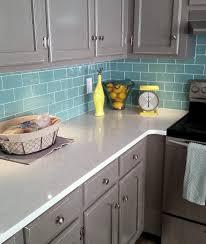 Blue Backsplash Kitchen Enchanting Blue Subway Tile Backsplash 51 Blue Subway Tile