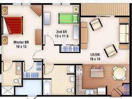 bedroom 64 2 bedroom apartments plan in modern