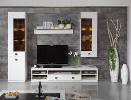 Tv Unit Furniture With Price Daiquiri Modern Tv Cabinet And Display Units Combination In White
