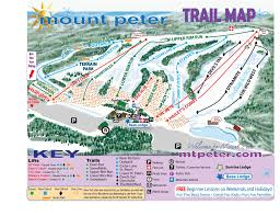G Map Mount Peter Ski Area Trail Map
