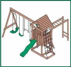 wood swingset plans how to build a easy diy woodworking projects