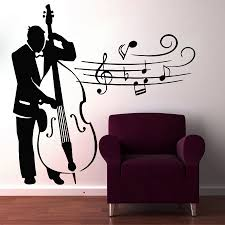 Music Home Decor by Online Get Cheap Wall Decal Musicians Aliexpress Com Alibaba Group