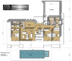 House For 1 Dollar by Two Story Modern Glass Home Design Next Generation Living Homes