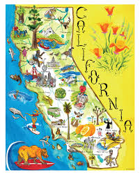 Map For United States by Printable Map Of California Map Of California