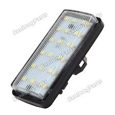 lexus lx470 uk 2x 18 smd license plate lights lamps for lexus lx470 toyota land