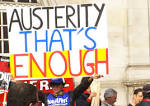 Unions signal mass resistance to austerity by backing Peoples.