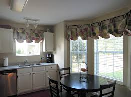 Kitchen Drapery Ideas Country Kitchen Valances Rustic Country Kitchen Curtains Photo 9