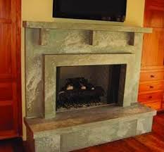 elegant fireplace surrounds concrete takes its place at the