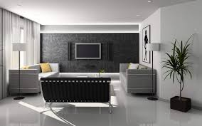 Living Room Design Ideas With Grey Sofa Dark Gray Color Of Tv Wall Design Ideas In Modern Home Living Room