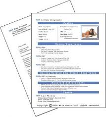 student resume templates microsoft word