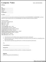 Salary Increase Letter Template     Salary Increase Letter to     Address List Template