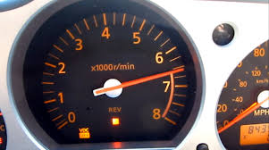 Nissan 350z Horsepower 2003 - nissan 350z review shift light rpm gauge cluster vq35 z33 g35 g37