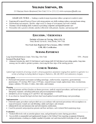 Sample Resume Objectives When Changing Careers by Graduate Nurse Resume Objective Free Resume Example And Writing