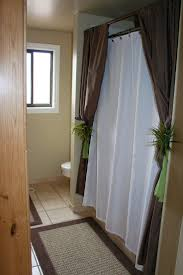 Angled Shower Curtain Rod 57 Best Curtain Rods Images On Pinterest Curtain Rods Curtains