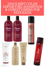 best colordepositing shampoos for redheads beauty products for