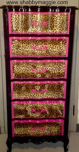 diy zebra plastic drawers yes please embrace the zebra betsey johnson inspired boroque dresser lingerie chest leopard print bedroomleopard