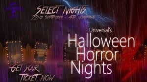 howl o scream vs halloween horror nights halloween horror nights 2017 rouniversal youtube