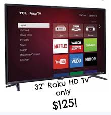 black friday 50 inch tv walmart walmart black friday deal 32 u2033 roku hd tv only 125 available on
