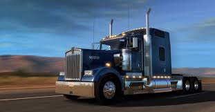 Get To Drive Kenworth W900 Now American Truck Simulator Mod
