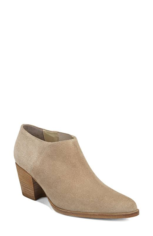 Vince Hamilton Suede Ankle-High Boots Brown 7.5 M
