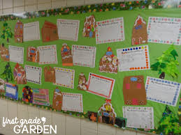 gingerbread writing paper first grade garden christmas blast from the past