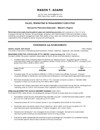 Resume Retail Template It Sales Resume Software Sales Resume Enterprise Software Sales