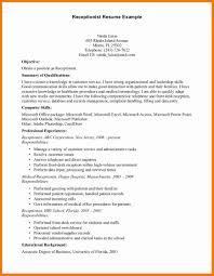 Job Resume Chef by 7 Front Desk Medical Receptionist Resume Chef Resumed