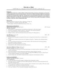 Resume Sample Volunteer by Sample Resume Of Pharmacist Resume For Your Job Application