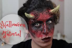 Halloween Male Makeup Teufel Makeup Halloween Tutorial 2014 Jj Youtube