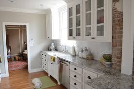 Crown Moulding Kitchen Cabinets Cabinet Base Molding Ron Used A Sawzall To Remove The Baseboard
