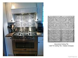 style winsome tin backsplash kitchen tiles related to pressed