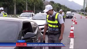 Imprudência: 1.094 motoristas são flagrados dirigindo embriagados ...