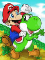Mario and the Yosh - Mario and Luigi Photo (9364391) - Fanpop fanclubs