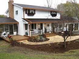 Split Level Home Designs Images Of Front Porches On Split Level Homes Home Design Ideas