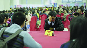 A good man is hard to find  China     s      leftover women      look for love     Singletons attend a speed dating event in the mainland