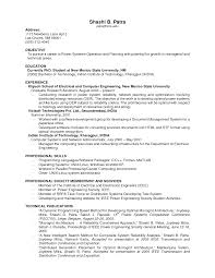 Cover Letter  Resume Example Jobs for Objective with Skills and