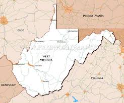 Virginia On Map by Where Is West Virginia Located On The Map