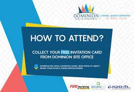New Office Invitation Card Dominion M U0026a Dominionisb Twitter