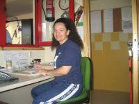 Paqui Trujillo, primera mujer árbitro de fútbol-sala que. ORIGINAL. Trujillo comenzó cronometrando partidos. / G. B. - 012D3UL-MMM-P1_1