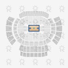 philips arena unmapped floor seating charts