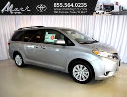 new toyota sienna in plover wi inventory photos videos features