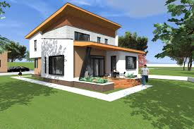 modern house design 197 square meters 2120 square feet archicad