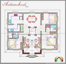 Home Design Plans As Per Vastu Shastra Three Bedrooms In 1200 Square Feet Kerala House Plan House