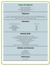 sample student resumes sample architecture resume for students