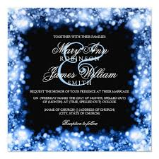 sapphire blue wedding invitations card wedding decor theme