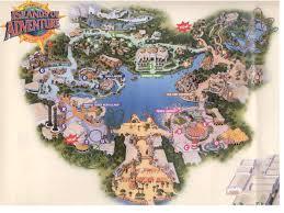 Orlando Universal Studios Map by Tickets
