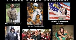 Seeking Claire ity  So You Want to Be a Peace Corps Volunteer