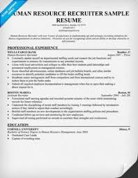 Hr Specialist Resume  experienced hr analyst resume  cover letter     Human Resource Recruiter Resume   hr specialist resume