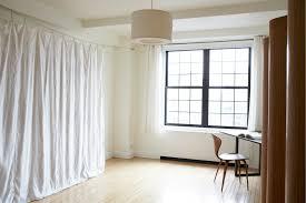 interior minimalist l shaped room divider for open floor plan